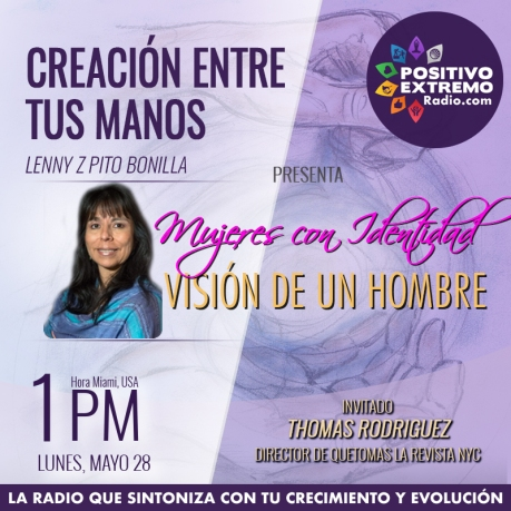 CREACION ENTRE TUS MANOS PROGRAMA SEMANAL MAYO 28 3