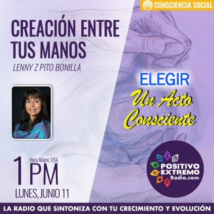 CREACION ENTRE TUS MANOS LUNES JUNIO 11