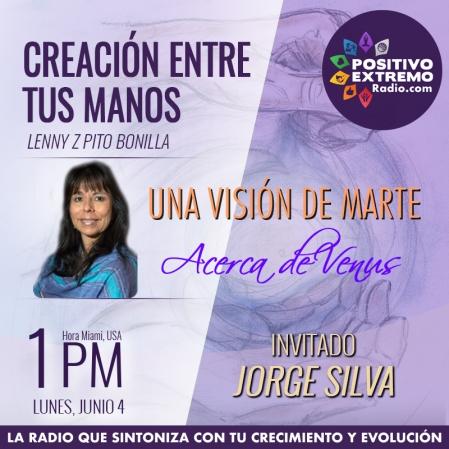 CREACION ENTRE TUS MANOS PROGRAMA SEMANAL JUNIO 4
