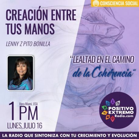 CREACION ENTRE TUS MANOS LUNES JULIO 16