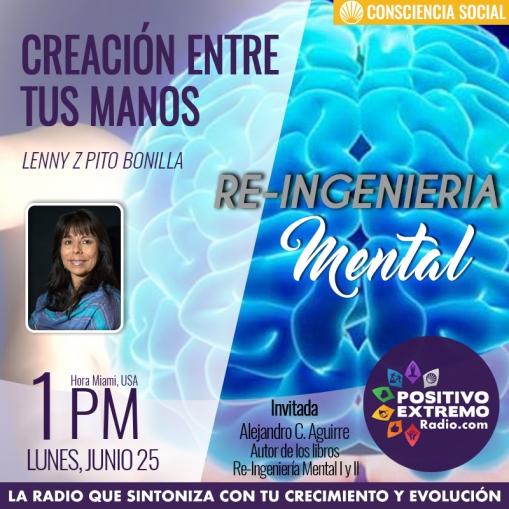CREACION ENTRE TUS MANOS LUNES JUNIO 25