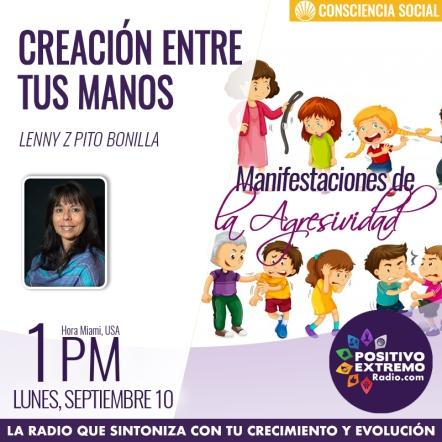 CREACION ENTRE TUS MANOS LUNES SEPTIEMBRE 10