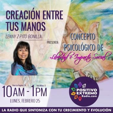 CREACION ENTRE TUS MANOS FEBRERO 25