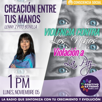 CREACION ENTRE TUS MANOS LUNES NOVIEMBRE 05