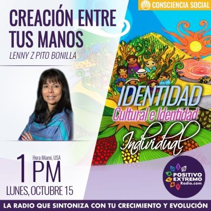 CREACION ENTRE TUS MANOS LUNES OCTUBRE 15