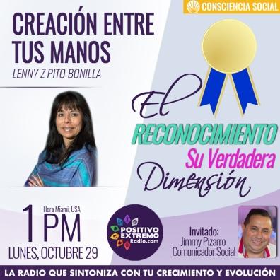 CREACION ENTRE TUS MANOS LUNES OCTUBRE 29